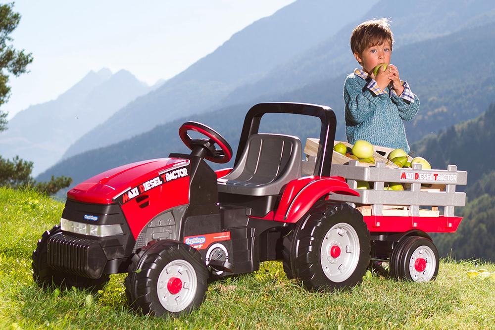 migliore Peg Perego Maxy Diesel Tractor
